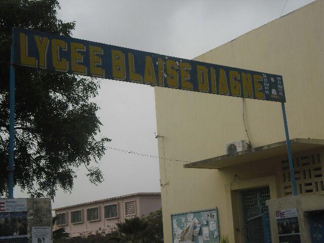 Lycée Blaise  DIAGNE C