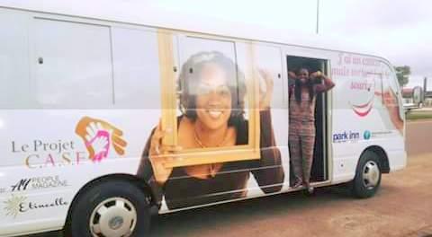 Le bus de la campagne CASE
